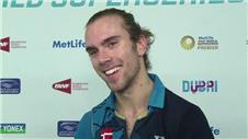 Jørgensen on 'ultimate badminton season'