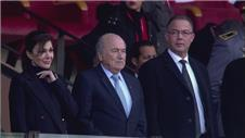 Blatter watches CWC thriller