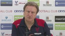 Palace have no fear travelling to face City - Warnock
