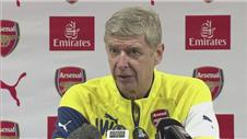 Wenger looks forward to Liverpool clash
