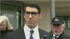 Michael Phelps handed suspended prison sentence