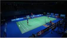 Action from Badminton World Superseries Finals