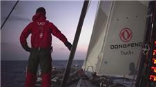 Dongfeng Race Team lead the Volvo Ocean Race