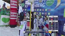 Dufour-Lapointe and Benna win moguls titles