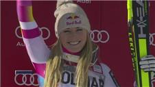 Vonn secures record-equalling 62nd win