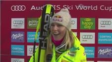 Lindsey Vonn sets new alpine skiing World Cup record
