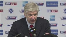 "Wenger: ""We didnt want to be another cup upset"""