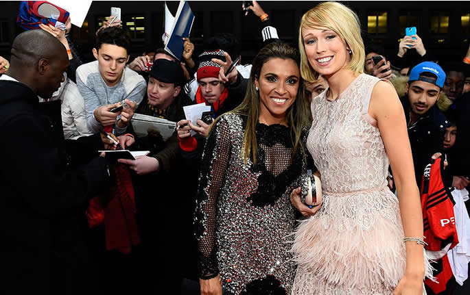 Ballon d'Or 2014: The best and worst from the red carpet