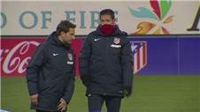 Atletico happy to play Barca in the cup - Simeone