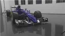 Sauber launch new-look 2015 F1 car