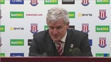 Managers react after Stoke City beats QPR