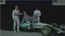 Williams and Mercedes both unveil 2015 cars