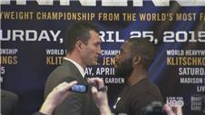 Klitschko and Jennings square up in New York