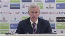 Point pleases Pardew against old side