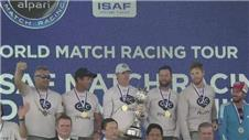 Ian Williams wins record fifth sailing world title