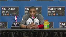 Westbrook pleased with win and MVP in All-Star games