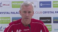 Pardew plays down previous rifts with Wenger