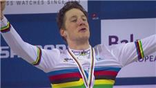 Favourite Bobridge beaten in track cycling final