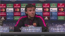 Luis Enrique adamant Barcelona are not favourites over City
