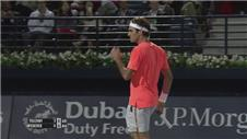Federer, Gasquet and Istomin progress in Dubai