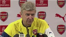 Everton match a chance to stabilise third - Wenger