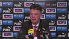 Van Gaal: Team full of confidence after Newcastle win