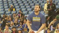 Bogut happy with Warriors game time
