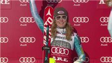 Shiffrin triumphs in World Cup slalom in Sweden