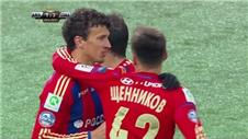CSKA slash Zenits Russian lead