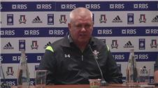 Gatland hoped to win by 50 or more