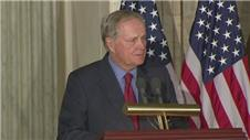 Jack Nicklaus awarded the Congressional Gold Medal