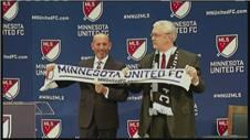 Minnesota to receive MLS expansion franchise