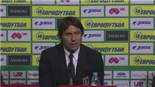 Draw disappoints Conte; Bulgaria lacked fitness