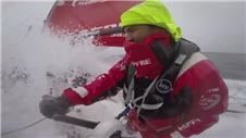 Weather hits Volvo Ocean at Cape Horn