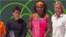 Williams wins eighth Miami Open