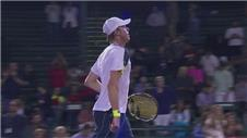Querrey knocks out top seed Lopez in straight sets