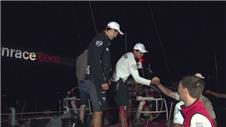 Dongfeng finally arrive in Itajai