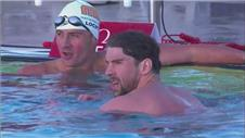 Phelps wins 100m butterfly on return