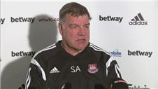 "Allardyce: ""We need be in top form to beat Man City"""