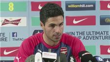 "Arteta: Arsenal ""best squad for years"""