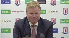 "Koeman: ""We deserved more"""