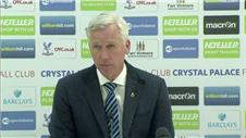Palace deserved a penalty - Pardew