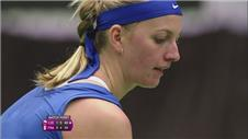 Safarova and Kvitova give Czech Republic 2-0 lead over France
