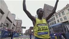 Desisa and Rotich win in Boston