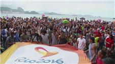 Dancers mark 500 days until Rio Paralympics