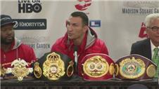 Klitschko disappointed with his unimpressive victory