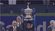 Nishikori beats Andujar to win Barcelona Open