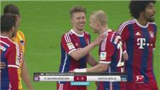 Bayern edge past Hertha, Leverkusen held to draw