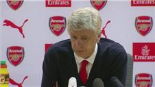 Wenger: We couldve had penalties