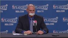 Rick Carlisle jokes about officiating